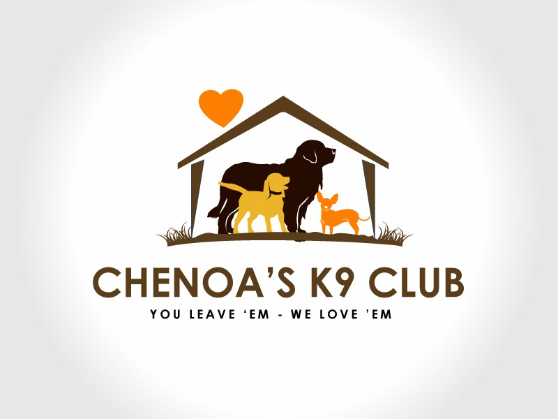 CHENOA'S K9 CLUB  NEEDS A LOGO!!  Help us stand out in a crowd!!