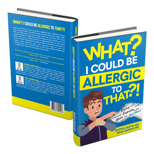 Creative cover for strange allergies that people can have!