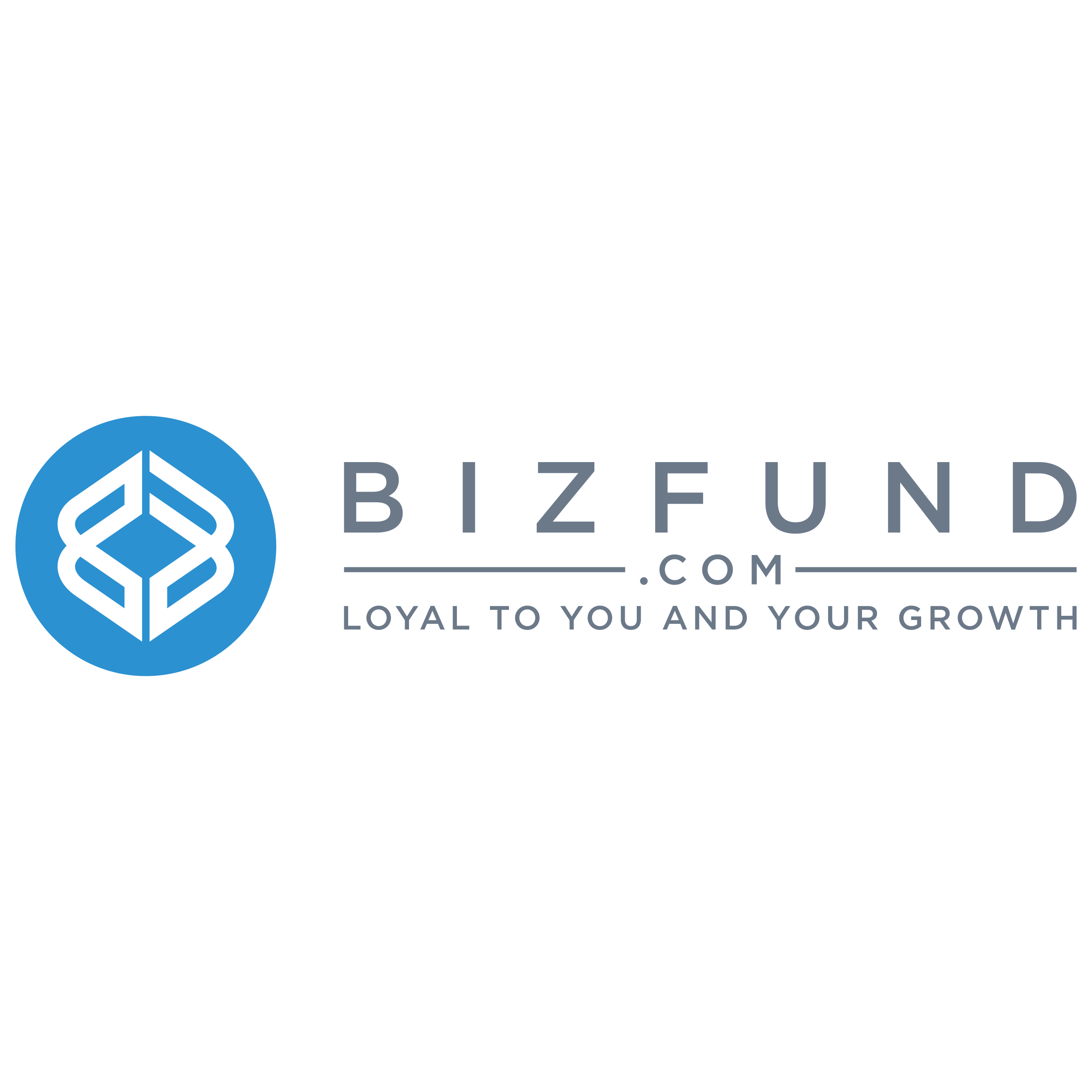 Create a new modern logo for a Cash Advance company Bizfund