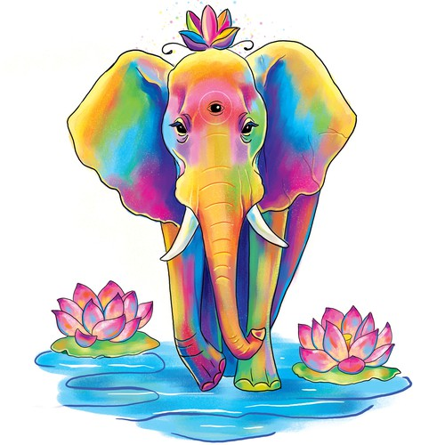 Magical elephant