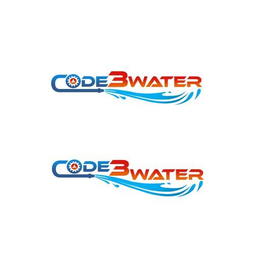 Code3 Water Logo