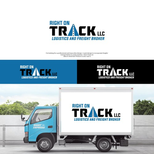 Logistic/Freight Broker Logo Design