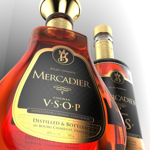 Cognac Label Design