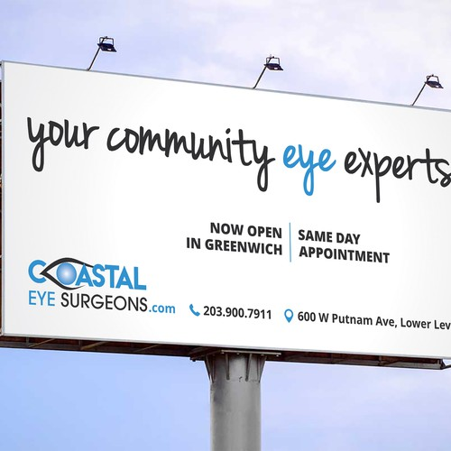 Eye Surgeons Billboard Design
