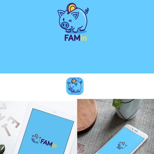 logo for famin