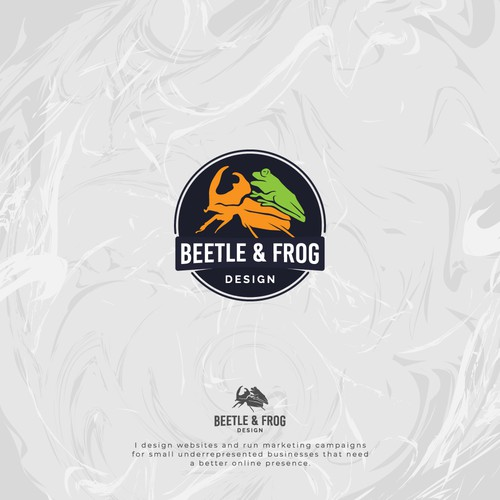 Beetle and Frog