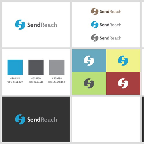 Create the next website design for SendReach