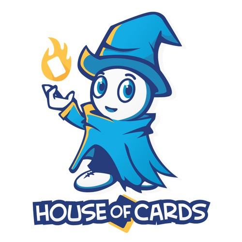 Be the Joker in our cards and design the logo for House of Cards.