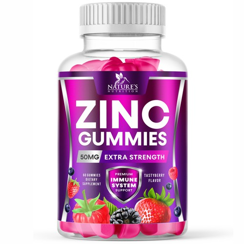 Nature's Zinc Gummies