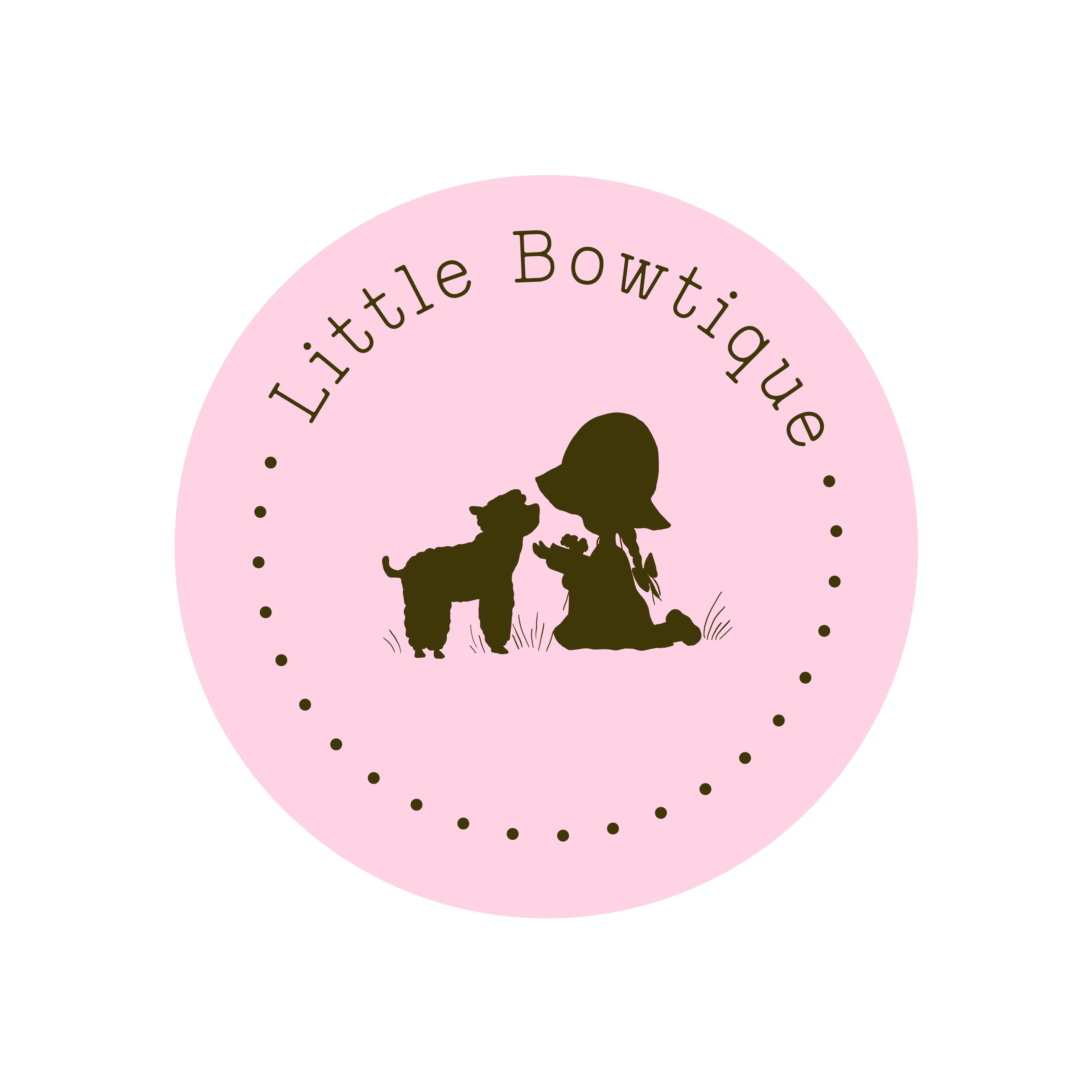 Logo for new brand for hair bows.