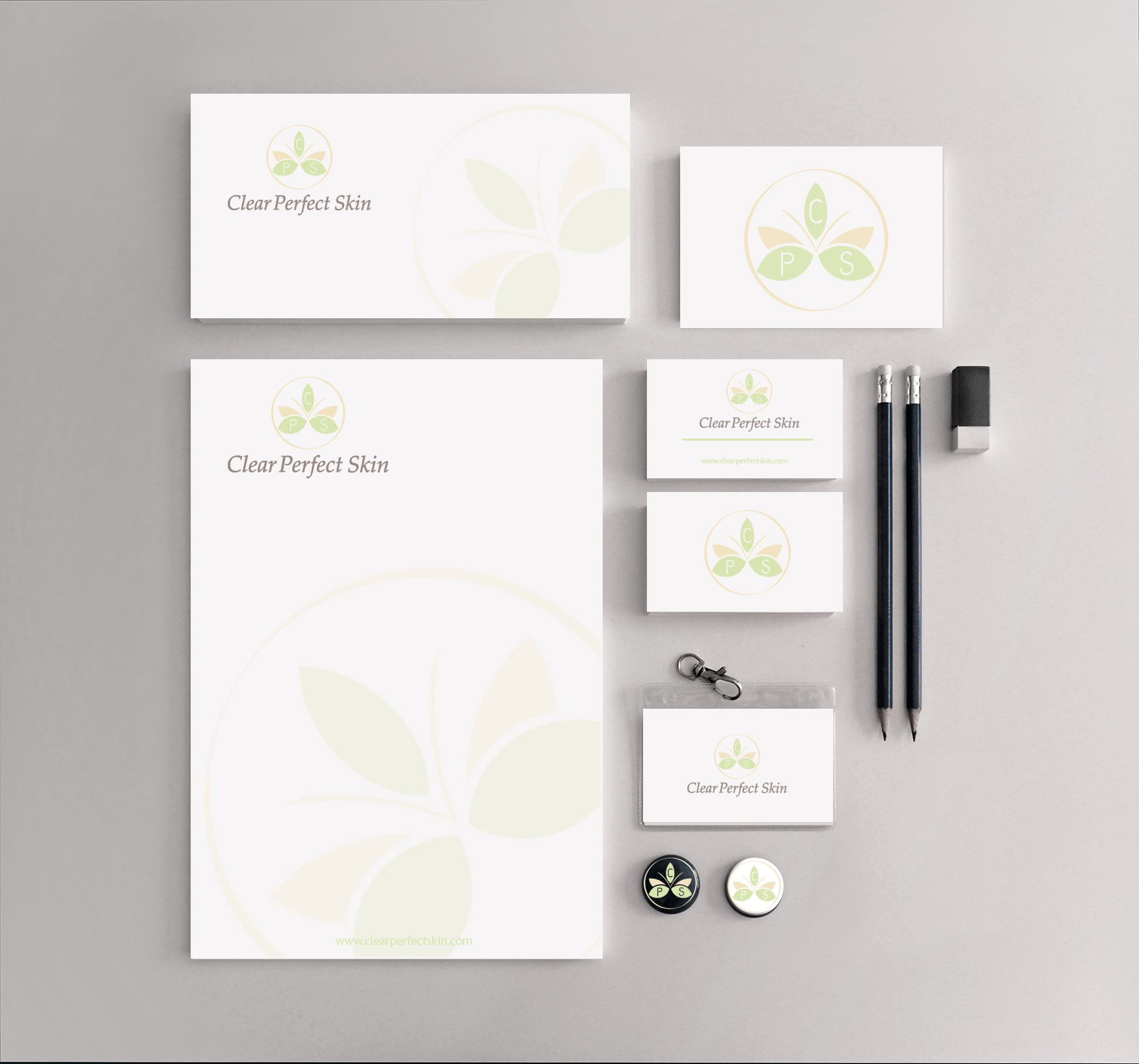 Create a classy elegant logo for products that give you clear perfect skin