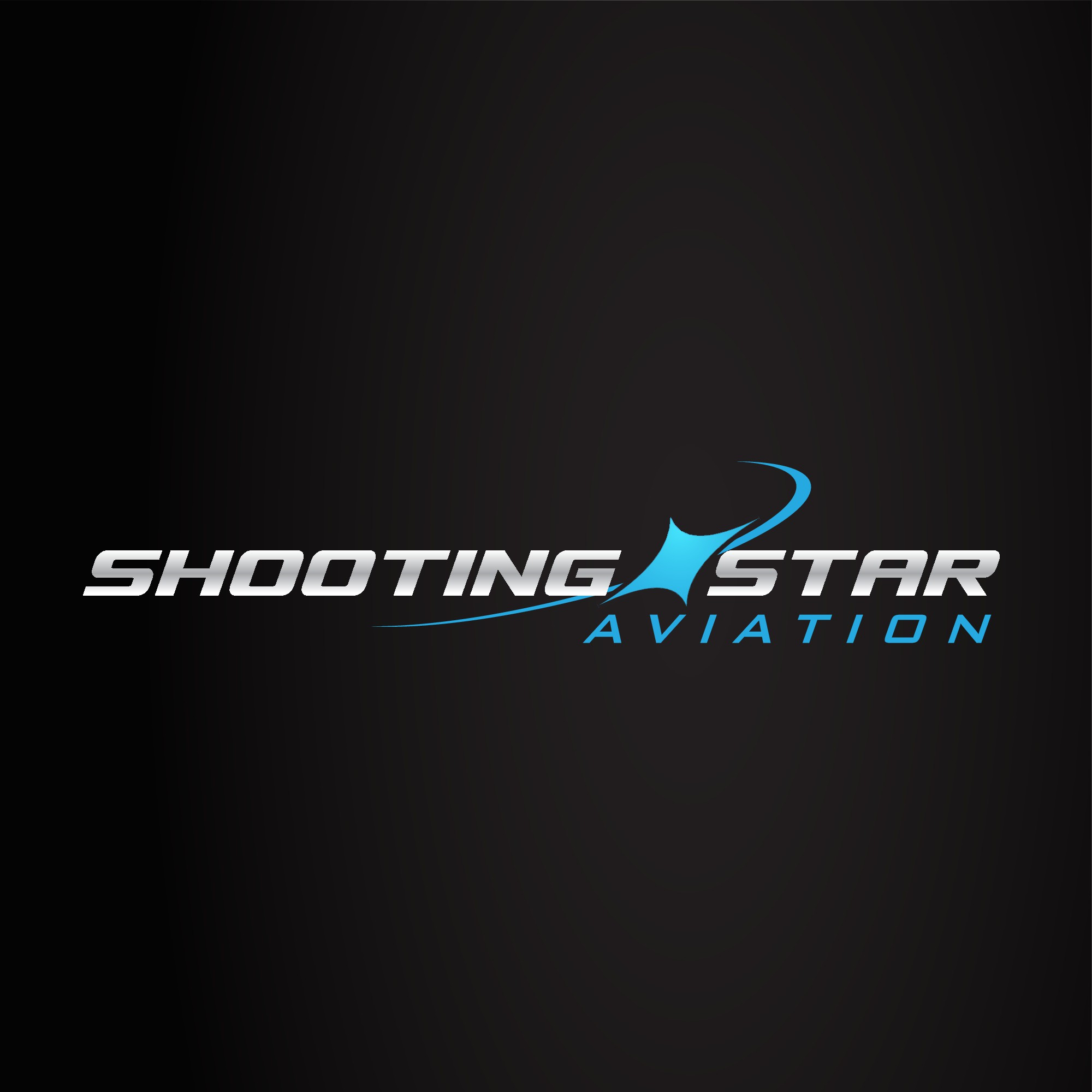 Drone company needs powerful logo.  Shooting Star Aviation