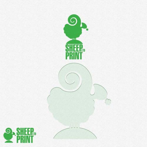 Logo SHEEP PRINT