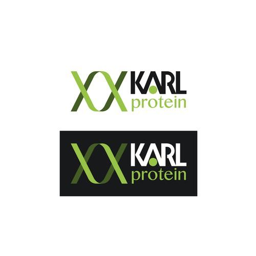 Logo Karl Protein (propuesta)