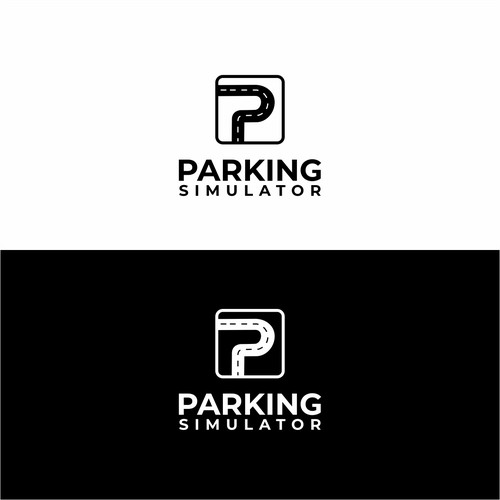 An iconic logo for Parking Simulator