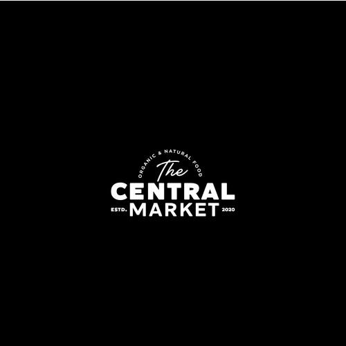 Logo design for an organic market