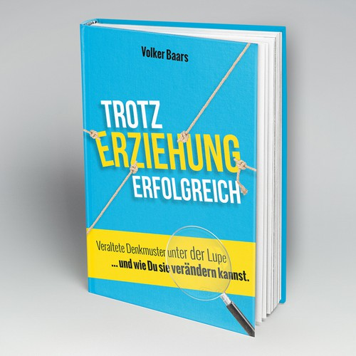 Cover for a coachingbook