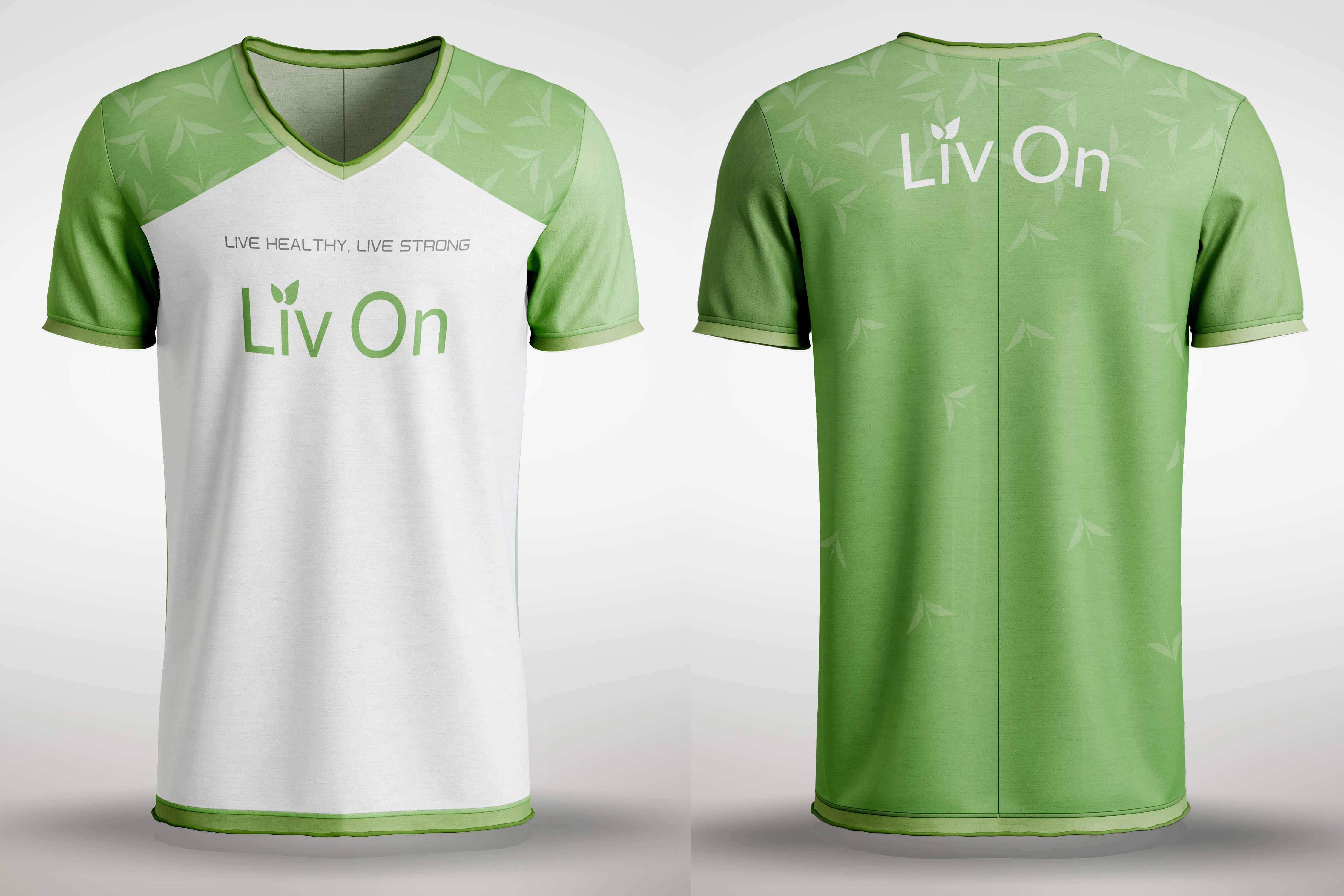 Liv On Fitness Expo T-Shirt Design