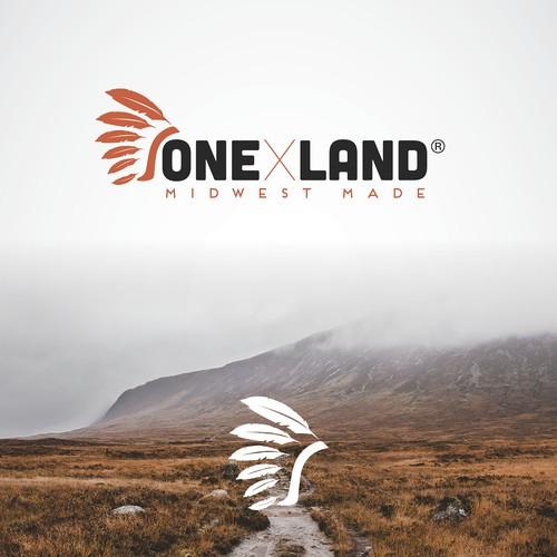 One X Land logo