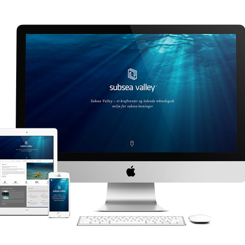 "Create webpages that shall be: ""The voice of the Subsea industry"""