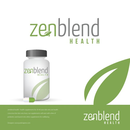 Health Supplement Logo