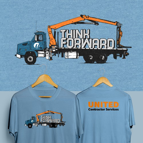 UNITED Contractor Services T-shirt