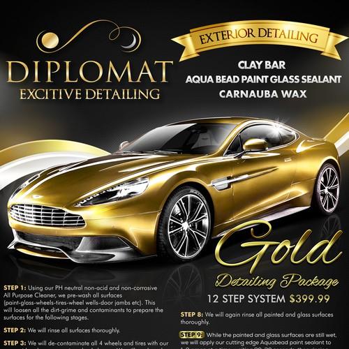 Flyer Bronze and Platinum package Diplomat