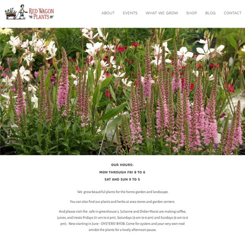 Red Wagon Plants Organic Flower Farm and Floristry