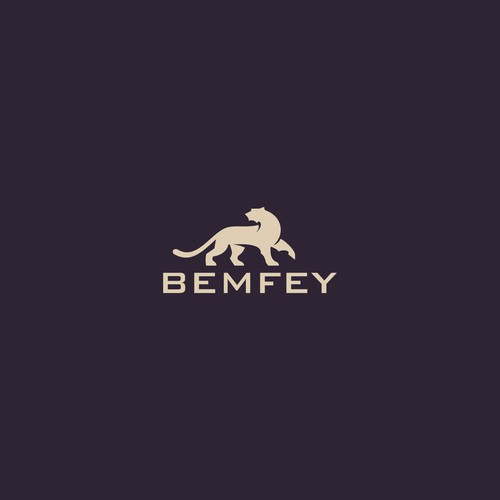 ELEGANT PANTHER LOGO FOR BEMFEY