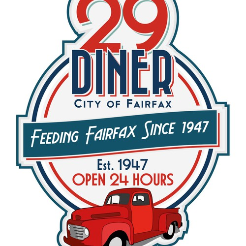 Virginia Historical Landmark - The 29 Diner Since 1947
