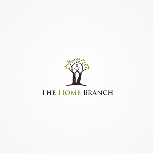 TheHomeBranch.com, Website & Business Name Logo