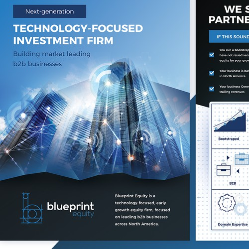 Investment Firm - Corporate Flyer