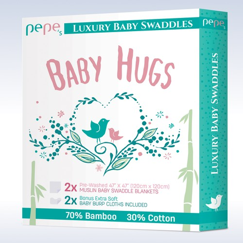 packaging for Baby Swaddles