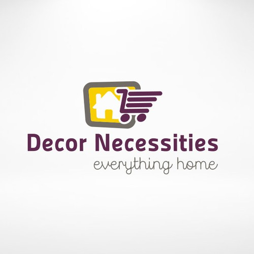 Logo design for a online home decor products store