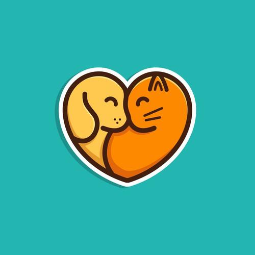 Dog & Cat Logo #2 (Unused Design)
