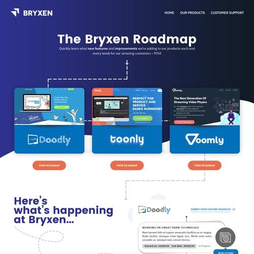 Bryxen Roadmap design