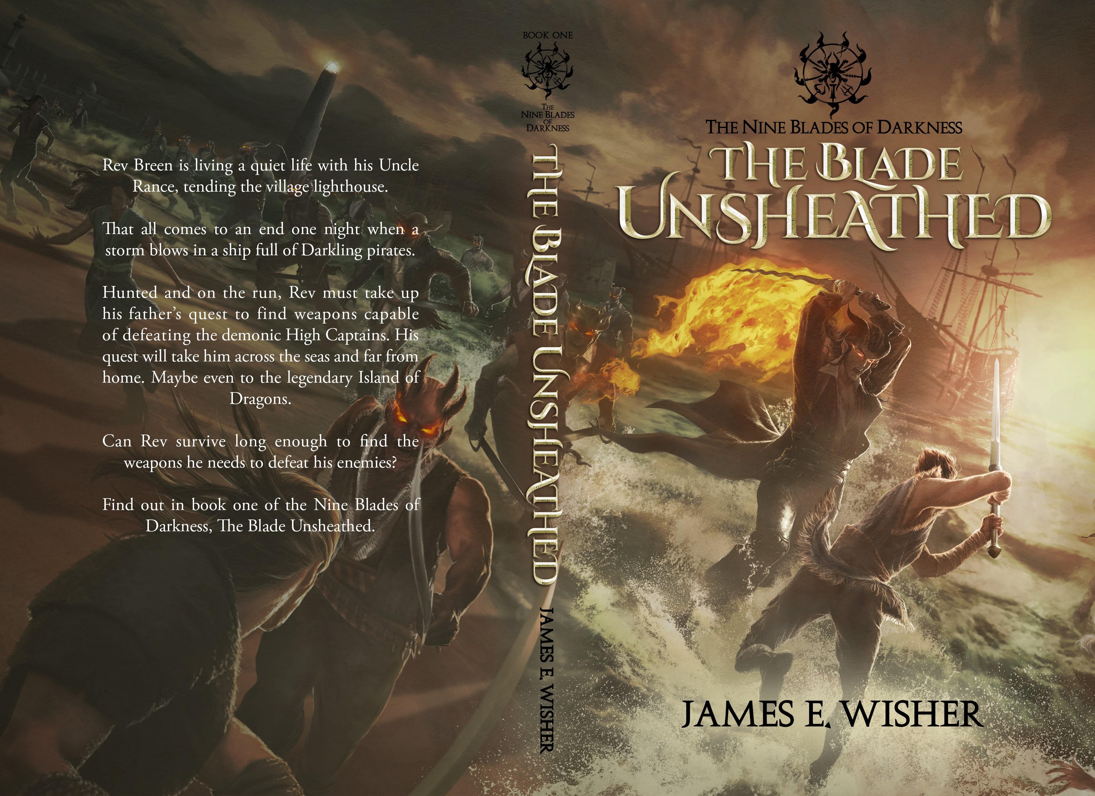 The Nine Blades of Darkness Art