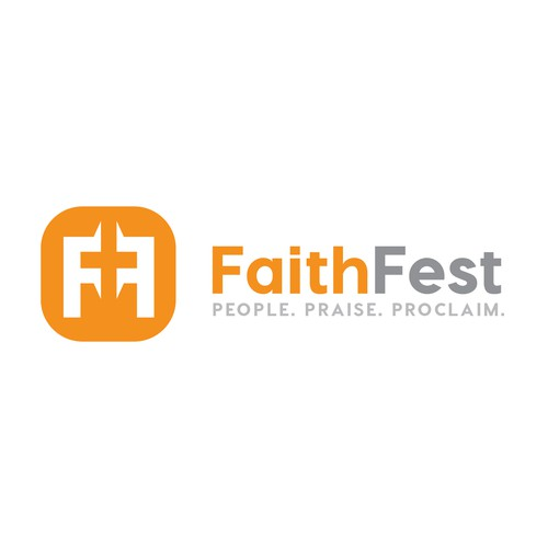 Fun brand for a huge Christian event!