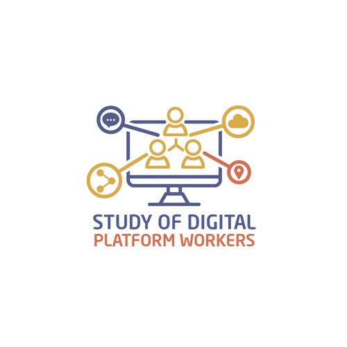 Winner logo competition of Study of Digital Platform Workers