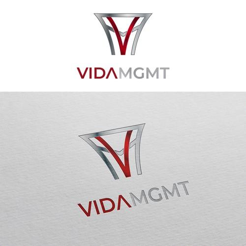 Logo design for VIDA MGMT Basketball Agency