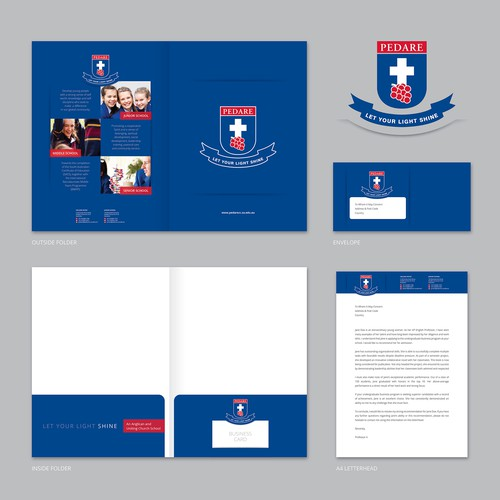Stationery Design for PEDARE School