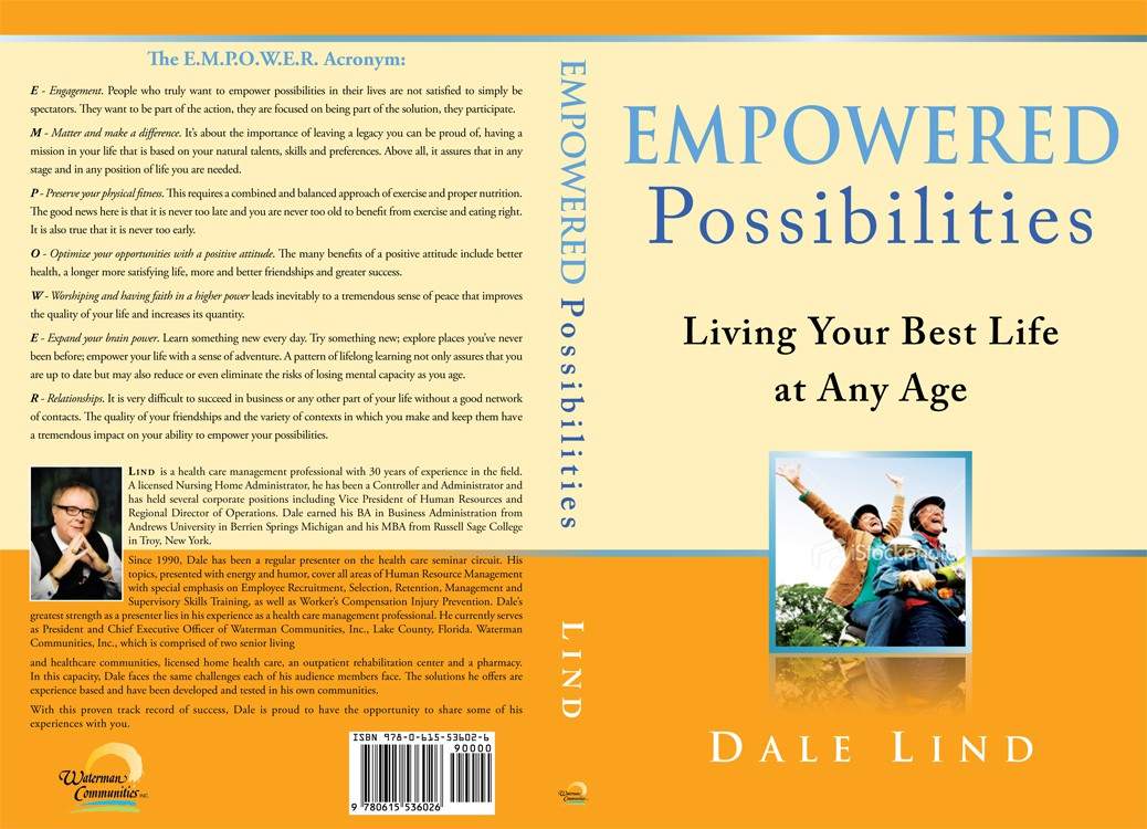 EMPOWERED Possibilities: Living Your Best Life at Any Age (Book Cover Needed)
