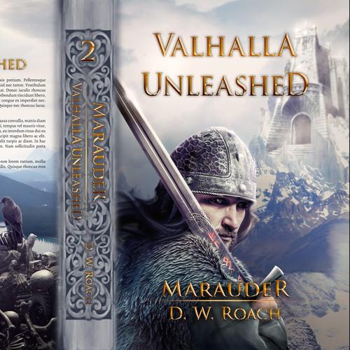 Historical fantasy novel cover
