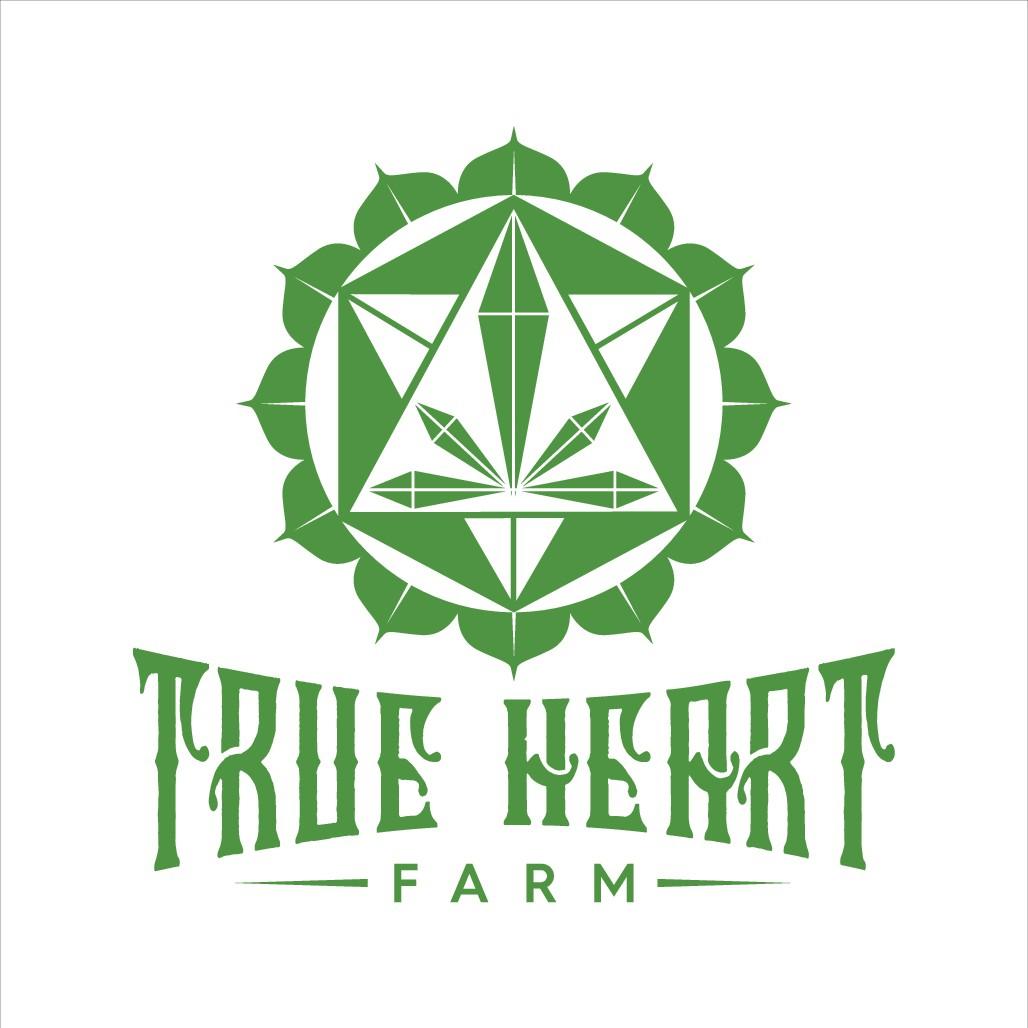 True Heart Farm CBD Cannabis Hemp Logo!