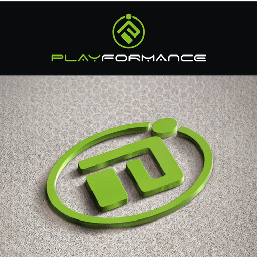 Create a refined logo for Playformance
