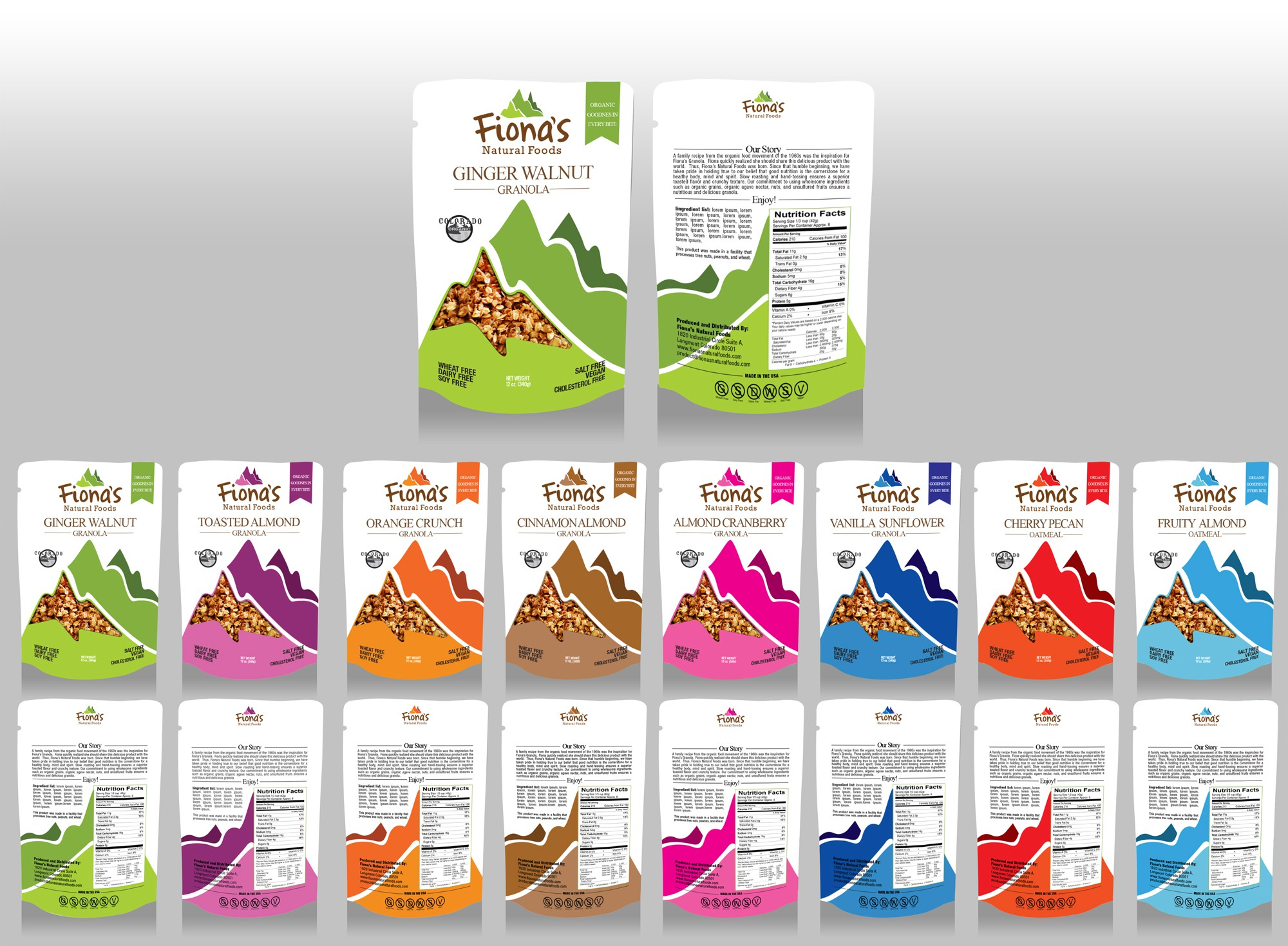 Help Us Create a New Look For Our Granola Company!!!