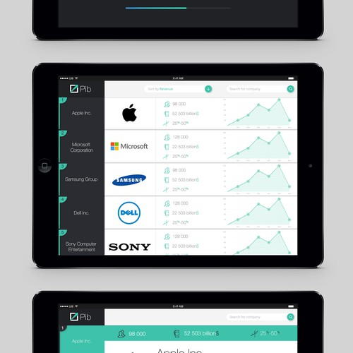 Design new business analytics app