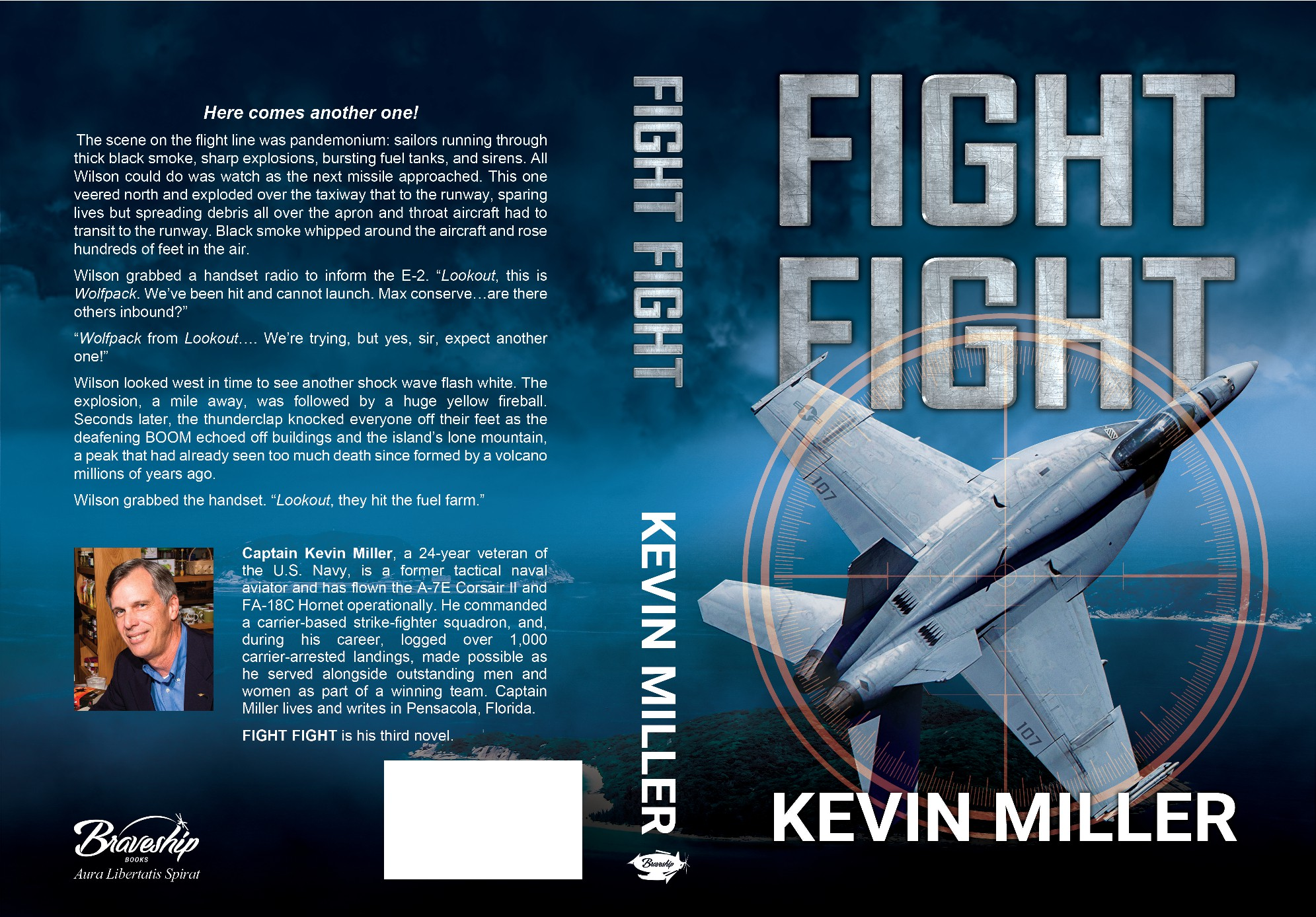 Book cover for Fight Fight, a modern day Red Storm Rising!