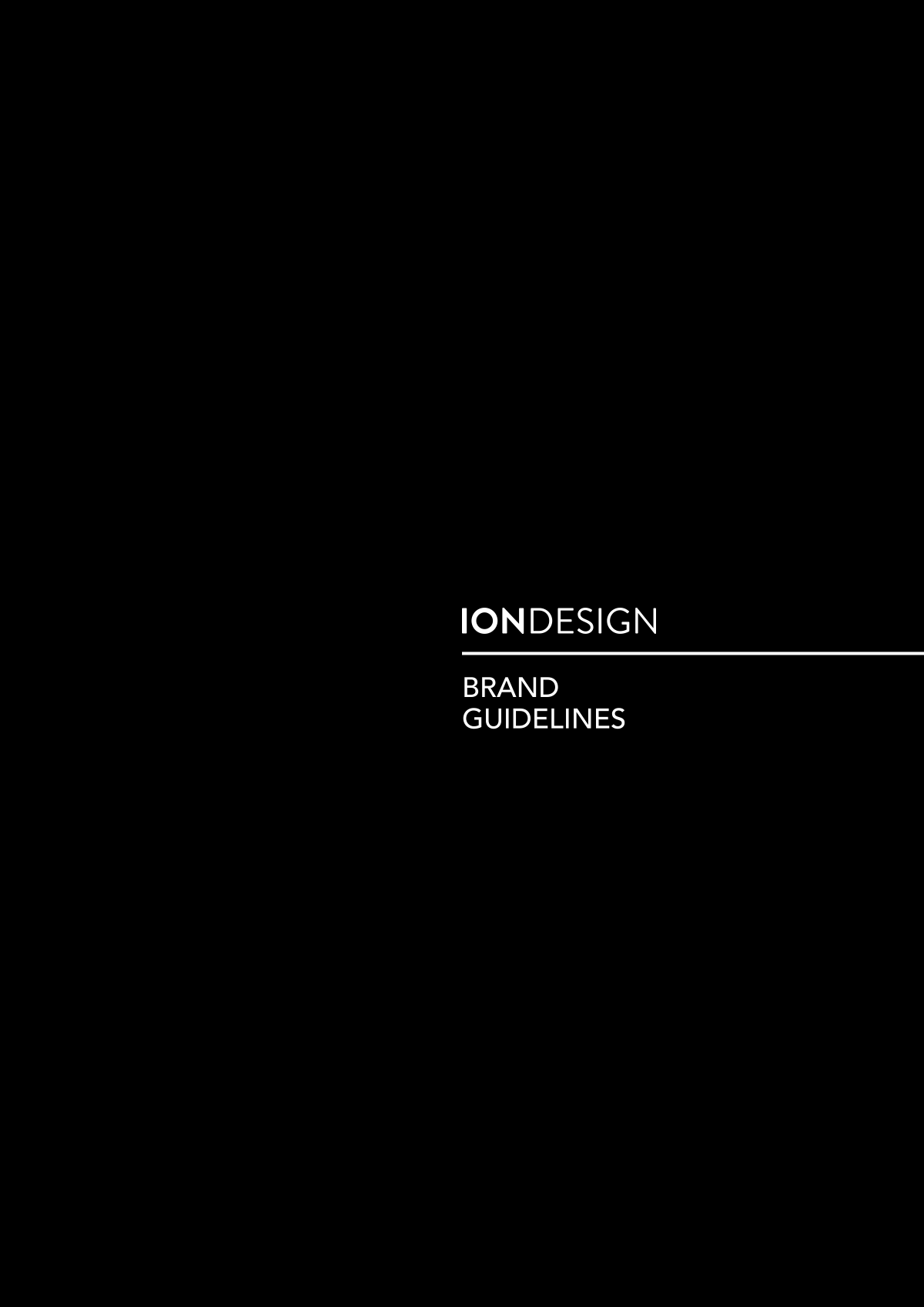StyleGuide ION DESIGN