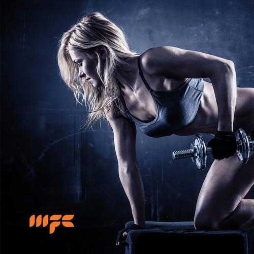 Monogram logo for Motivational Fitness Coaching